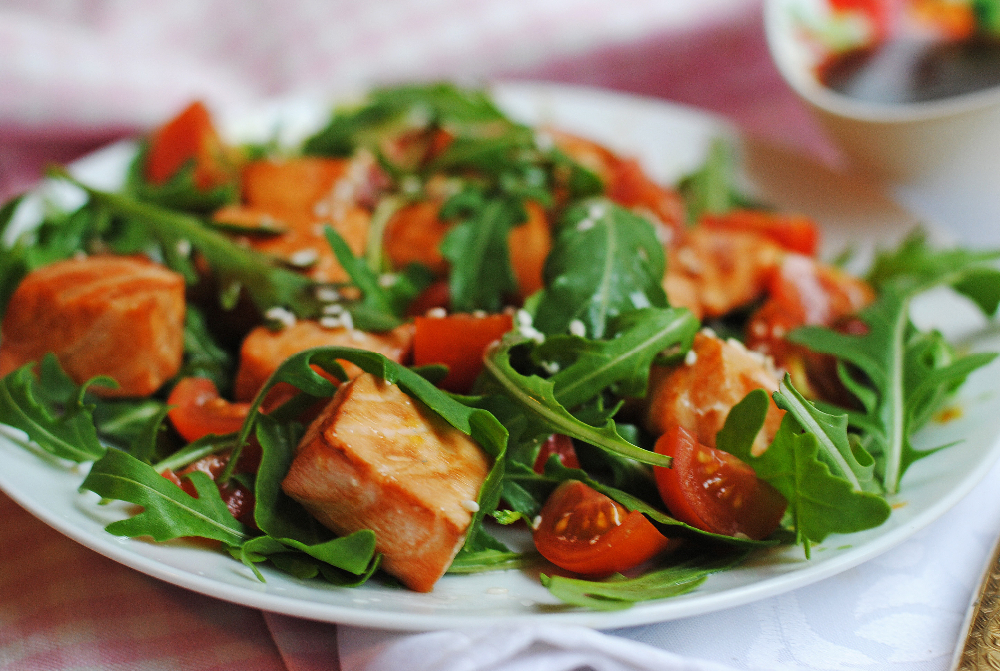 ресторанные рецепты салатов фото