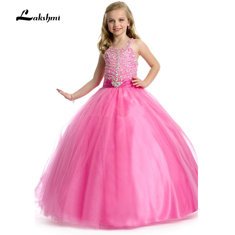 Online Buy Wholesale girls pink puffy dresses for kids from China ...