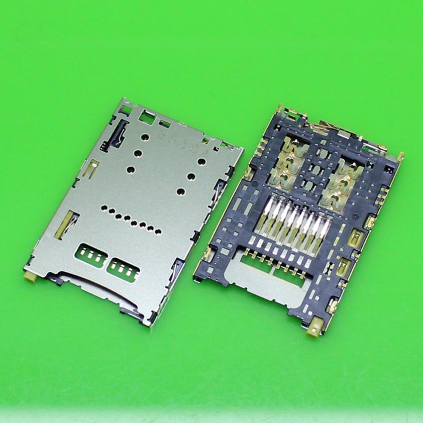 2PCS/lot,Brand new for Sony Xperia Z5 du E6603 E6633 E6653 E6683 SIM card reader connector socket module