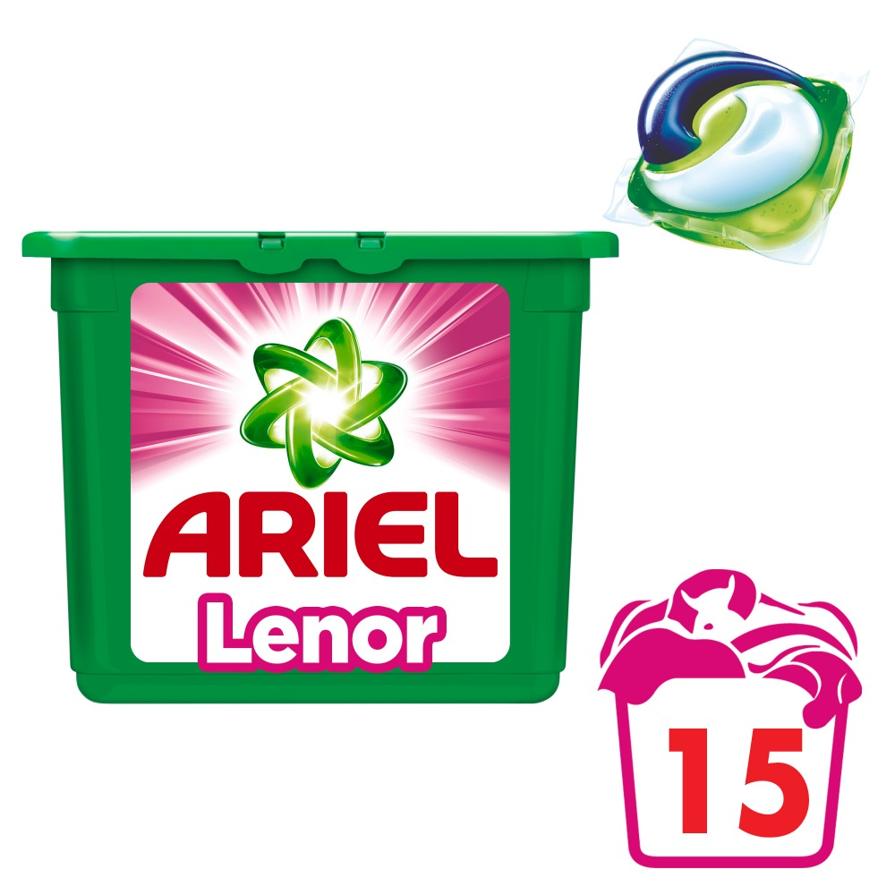 Washing Powder Capsules Ariel Capsules 3in1 Lenor Effect (15 Tablets) Laundry Powder For Washing Machine Laundry Detergent jiqi 3l portable single barrel washing machine semi automatic mini top loading open washing device large capacity children home