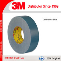 3M Performance Plus Duct Tape 8979 ,Strong waterproof backing resists UV, moisture ,Clear Removal,2INX60YD/roll (1roll/Lot)