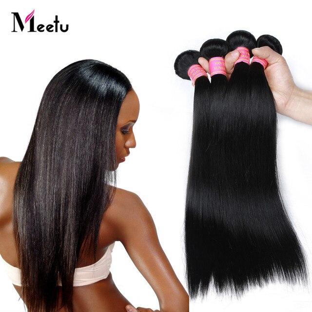 """Malaysian Straight Hair 100g 4 Bundle Deals Cheap 7A Malaysian Virgin Hair Straight 8""""-28"""" Customized Top Quality Straight Hair"""