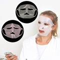 Nueva señora de las mujeres de silicona máscara facial perfect uso de máscara no nutrición esencia hidratante mascarilla cubierta 2017 venta de residuos