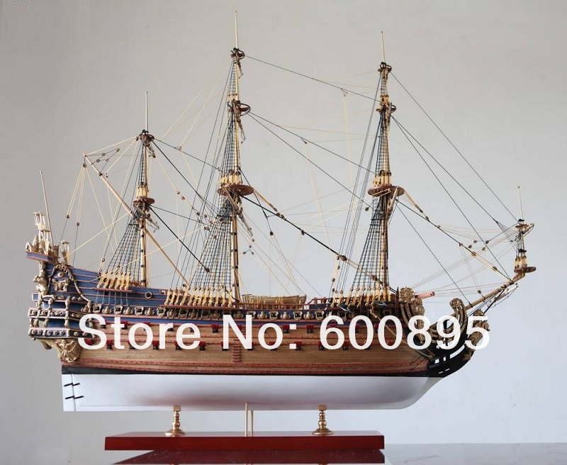 Zhl nave modelo de madera kits Le Soleil Royal 1669 KL03 en Kits de ...