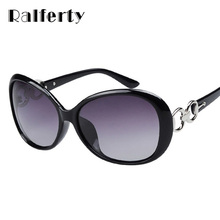 Ralferty Polarized Sunglasses Women Polaroid Goggles UV400 Fashion Sun Glasses Female Shades Eyewear Black brown red Oculos 2115