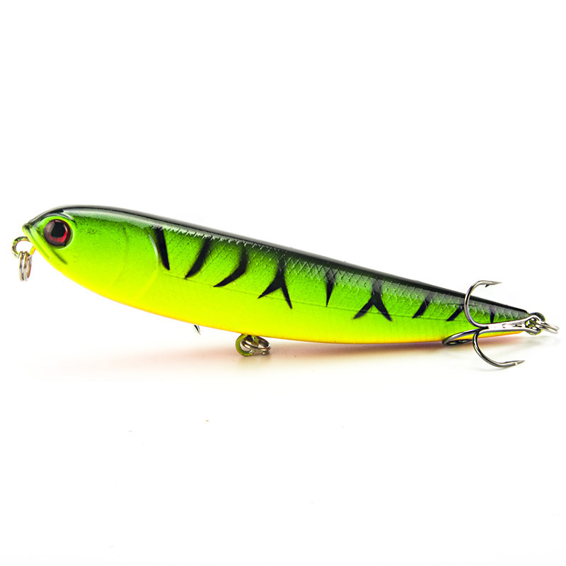 Memancing Lure 12cm 22g Lure Lure Pensil Hard Bait Plastic Crankbait Artificial Fishing Tackle