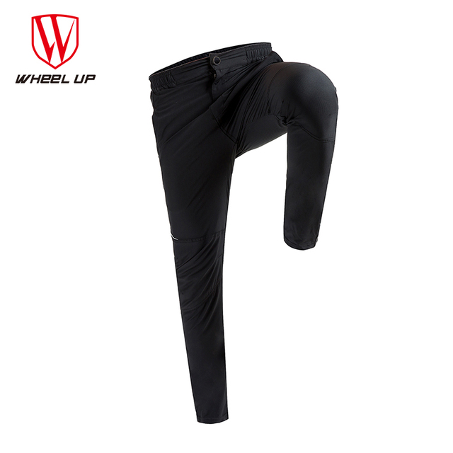 2017 Spring & Autumn Men Cycling Pants Long Bike Pants Quick Dry Anti-sweat Breathable Pockets Bicycle Trousers Cycling Clothing