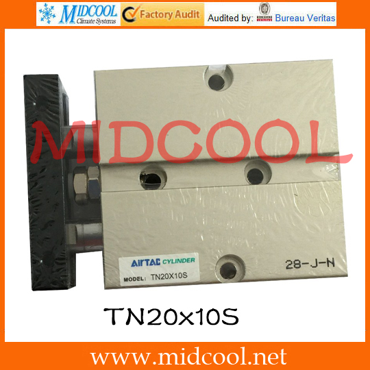 ФОТО Original AirTAC Twin-rod cylinder TN Series TN20x10S