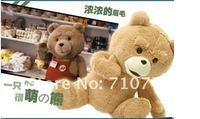 60 см плюшевый медведь тед плюш куклы человека тед медведь наполненный плюш игрушки
