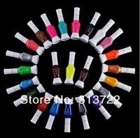бесплатная доставка 24 цвета 2-poles блеск макияж лак ногтей разметки ручка + лак комплект ногтей лак для ногтей лак Cast ручка инструменты