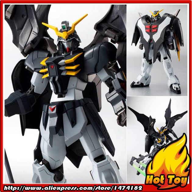 100% Original BANDAI Tamashii Nations Robot Spirits No.151 Action Figure - Gundam Deathscythe Hell from  Gundam W original bandai tamashii nations robot spirits exclusive action figure rick dom char s custom model ver a n i m e gundam