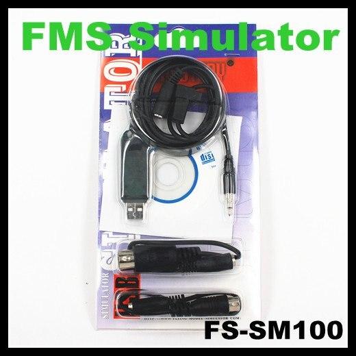 Fs Sm100 Fms Usb Flight Simulator Cable For Futaba Esky Jr Wfly 4 8ch
