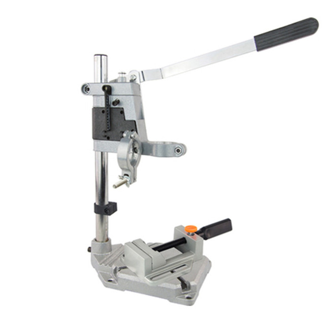Double-head Electric Drill Bracket With a Flat Nose Pliers Dremel Grinder Rack Stand Clamp Grinder Accessories For Woodworking