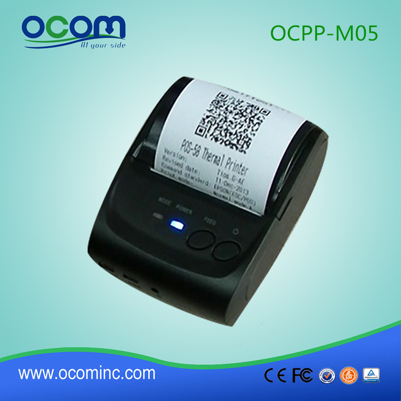 OCPP-M05-BB 58MM Bluetooth Thermal Receipt Printer support Andriod and IOS