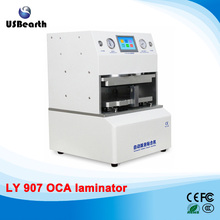 LY 907 all-in-one 12 inch auto in and out OCA laminator no need air compressor vacuum pump defoam machine 220V 110V