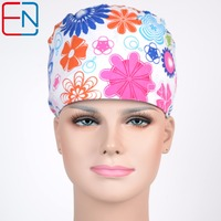 NEW!! surgical caps with high quality facric f with sweatband