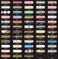 20 СКП. / много блеск блестящий шалунья стиле ногтей наклейки новая мода фильм Patch артикул : b0004