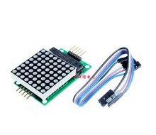 Бесплатная доставка! MAX7219 точечная матрица Дисплей/scm/LED матрица/8×8/51 Дисплей Интерфейс