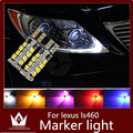 Guang Dian 2pcs Car led light Marker lamps Clearance Light With lamp bright LED For ls460 2007-2012 T10 w5w 2835 194