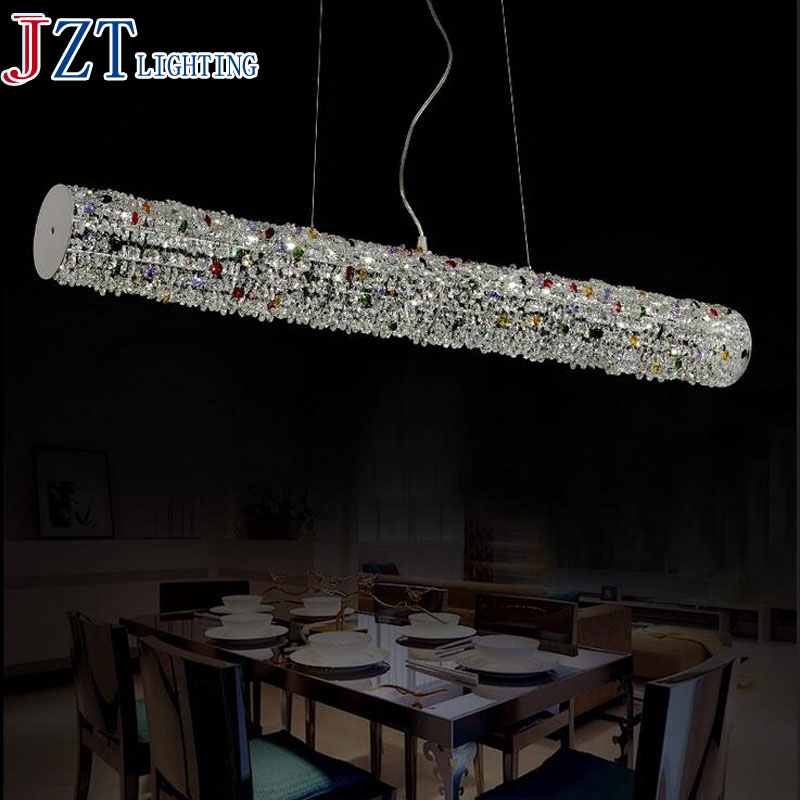 M LED Crystal Light Creative Meals Chandeliers Dining-room Lamp Droplight The Bedroom Crystal droplight Modern Lens Headlight modern crystal chandelier hanging lighting birdcage chandeliers light for living room bedroom dining room restaurant decoration