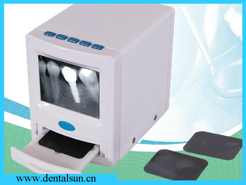 500pcs Picture Saved! LCD Display Dental  X-ray Film Reader Digital