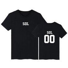 Kpop Bigbang T-shirt Women Short Sleeve Cotton Summer G-Dragon Taeyang Top Tee Shirt Men Fashion Hip Hop White T Shirt Men
