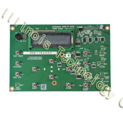 Original Roland SJ-540 / SJ-740 / FJ-540 / FJ-740 Panel Board printer parts auto paper auto take up reel system for all roland sj sc fj sp300 540 640 740 vj1000