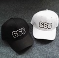 2016 NEW FASHION COOL 666 BASEBALL CAPS COTTON FREE SHIPPMNET CASUAL CAPS 1526263124