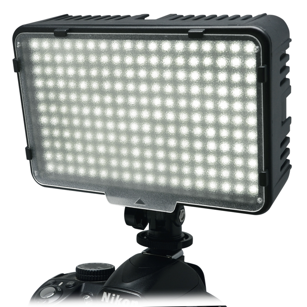 Mcoplus 198 LED-Ultra-High-Power-Videolicht-Kit für Canon Nikon - Kamera und Foto