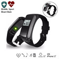 F50 Heart Rate Monitor Smart Wristband with Detachable Bluetooth Headset Function Dial Smart Bracelet Android / iOS Watch Band