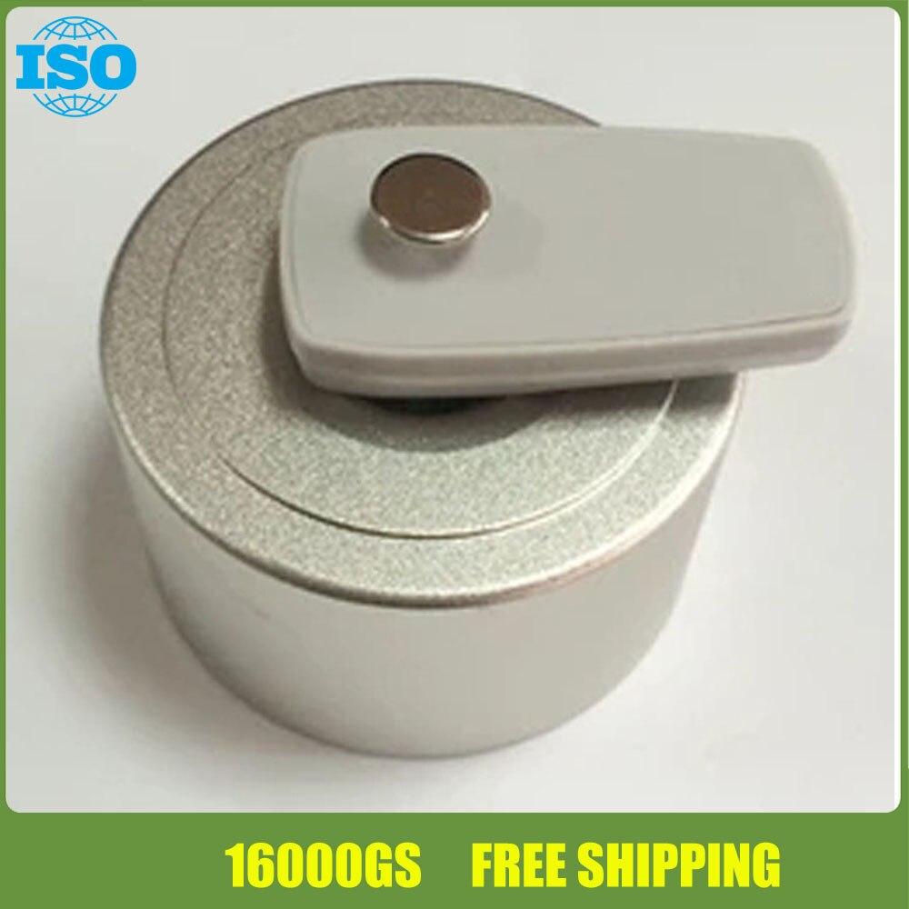 Loja de moda ímã 16000GS segurança removedor tag, limpador de nódoas de eas tag duro 1 pcs frete grátis