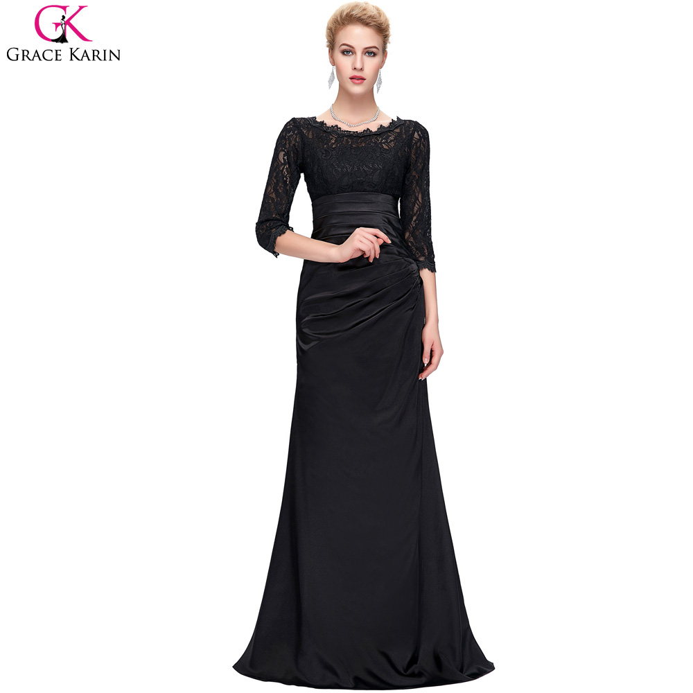 Popular Black Formal Gown-Buy Cheap Black Formal Gown lots from ...