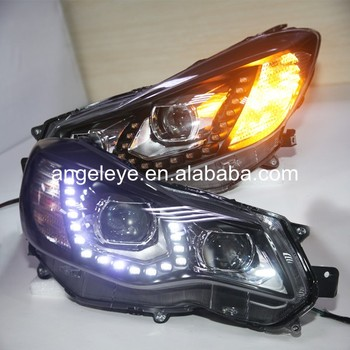 2012-2014 Year for Subaru XV WRX LED Head Light with Projector Lens PW