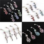 бесплатная доставка свадьба ювелирные изделия горный хрусталь комплектов ювелирных изделий с ожерелье и пирсинг серьги bj096
