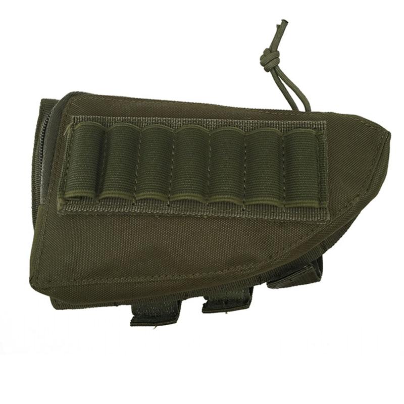 Airsoft caza al aire libre táctico rifle escopeta bolsas bandolera cinturón munición titular cartucho militar bolsa de caza accesorios