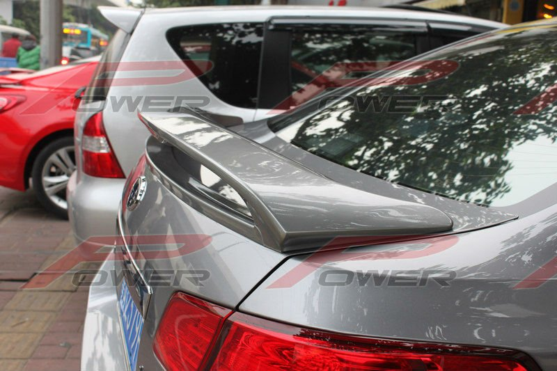 Rear Trunk Spoiler Wing For Subaru Legacy 2009 Sport Style With Led