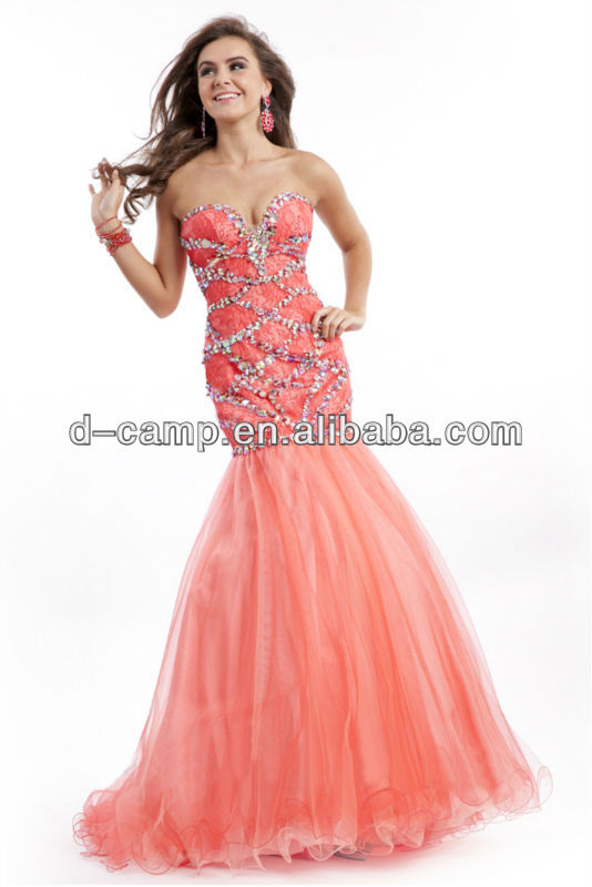 FREE SHIPPING OC 2477 Beaded indian style evening dresses ladies ...
