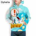Men hoodies hip hop sweatshirt funny 3D print Pokemon Go 3XL hoodie men tracksuit high quality male pullovers hoodys