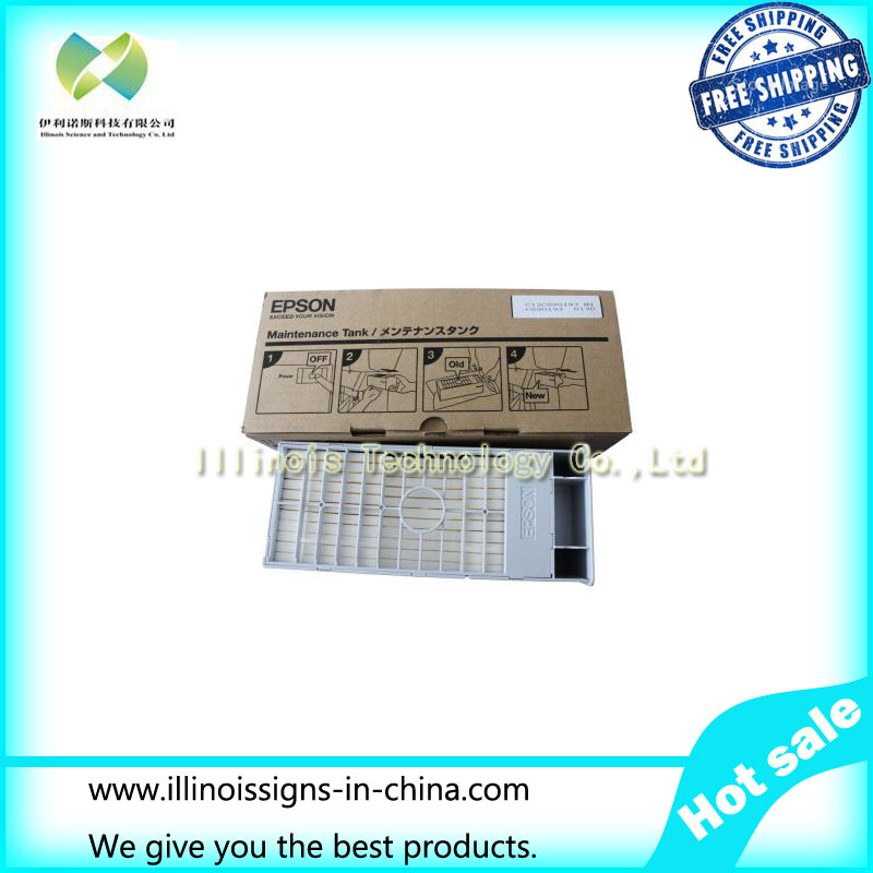 Maintenance Tank for Stylus Pro4000 4880 7600 7880 9600 9880 printer parts F186000/DX4/DX5/DX7 home sensor printer parts for dx5 stylus pro 4880 4800 7880 9800 84439990