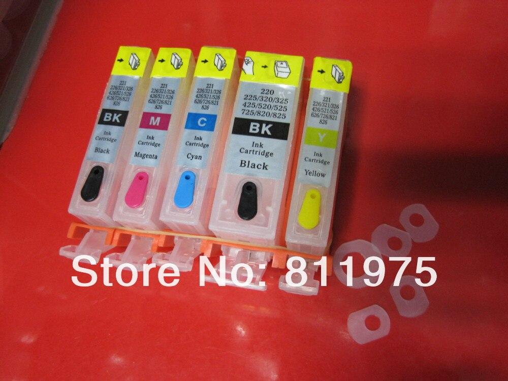 PGI-225PGBK 225 PGBK BLACK Printer Ink Cartridge W CHIP for Canon Pixma ip4820