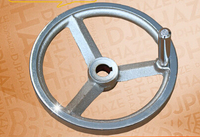 Cast Iron Handwheel Chrome Plating Handwheel Handwheel Handwheel Woodworking Machinery Keyway Handwheel Handle Handwheel