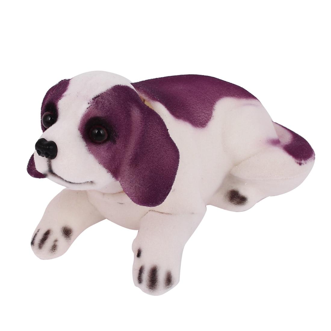 X Autohaux Car Auto Decoration Fragrant Saint Bernard Bobbing Head Bobblehead Dogs