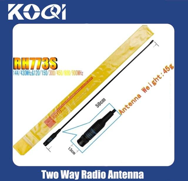 Radio 2 maneira antenne RH 773 dual band antenne RH-773 SMA - male pour vx - 3r, Vx - 6r, Vx - 7r, Vx - 8r, Vx exp édition gratuite