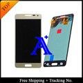 Бесплатная Доставка + Отслеживая № 100% Orignal Для Samsung Galaxy Alpha G850 G850F G850M G850K ЖК Планшета Ассамблеи Белый/Серый