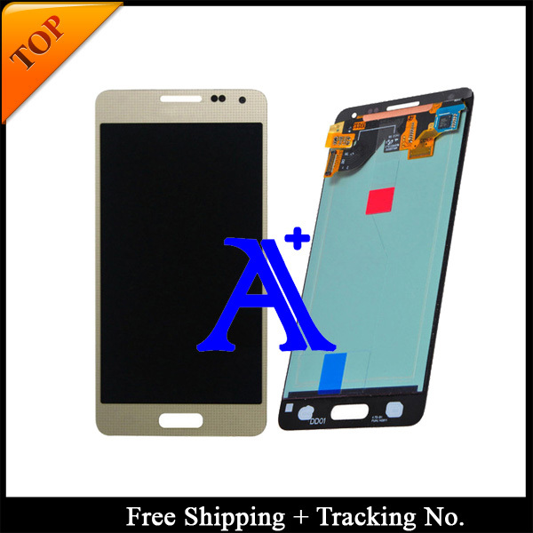 Free Shipping + Tracking No. 100% Orignal For Samsung Galaxy Alpha G850 G850F G850M G850K LCD Digitizer Assembly - White/Grey