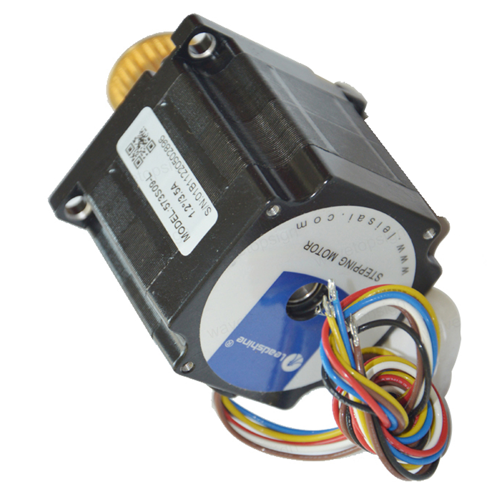 hight resolution of leadshine 573s09l and 3nd583 3 phase 6 wires stepper motor and driver for x axis of co2 laser machine in stepper motor from home improvement on