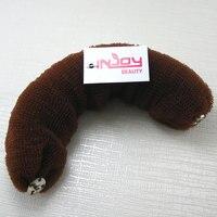 ar15 бесплатная доставка оптовые укладки волос инструмент аксессуары волос ролик бун кольцо пончик формирователь makerhair булочка