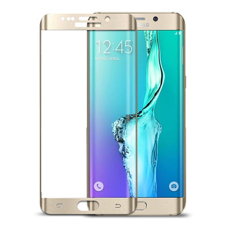 3D <font><b>Curved</b></font> Surface Full <font><b>Screen</b></font> Cover Coverage Explosion-proof <font><b>Tempered</b></font> <font><b>Glass</b></font> Film for Samsung Galaxy S7 <font><b>Edge</b></font> G9350 Clear