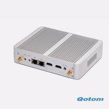 Qotom-m150s самый дешевый N3150 четырехъядерных процессоров linux ubuntu компьютер в китае OEM X86 мини-пк