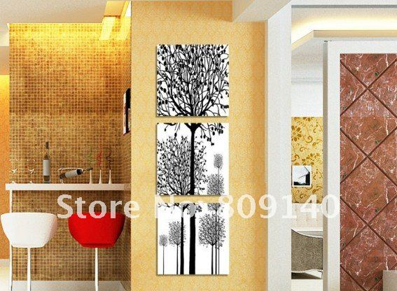 oil painting canvas Family Trees Love abstract art high quality hand ...